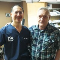Dr. Kuang and Larry R.