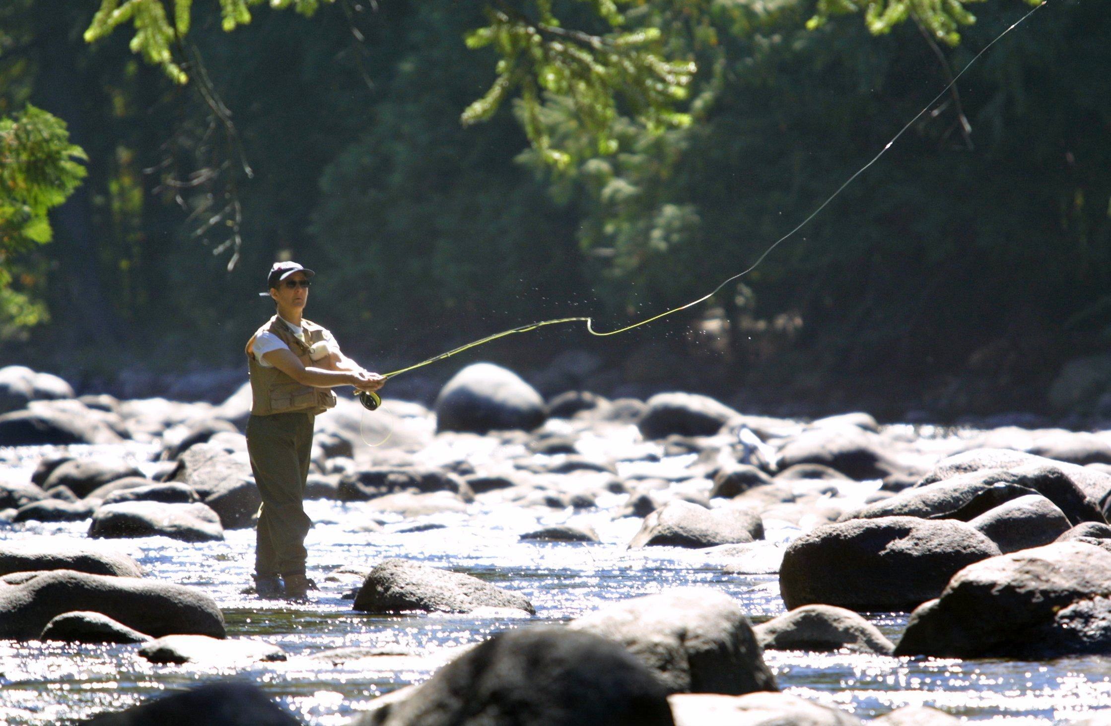 FISHING IS A ART FORM.